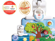 Double-Sided Crib Toy Wins Prestigious Australian Toy Award!