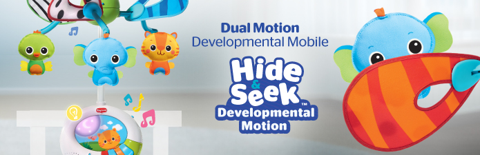 Dual Motion Developmental Baby Mobile