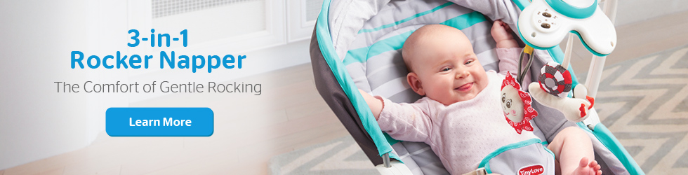 Fashion Rocker Napper Baby Bouncer
