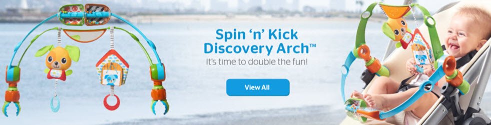 Spin 'n' Kick Discovery Arch