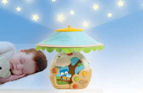 Licht Projector Baby : Magical night baby mobile