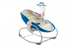 3-in-1 Rocker Napper - Blue
