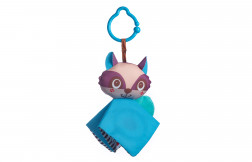 Crinkly Raccoon Travel Toy