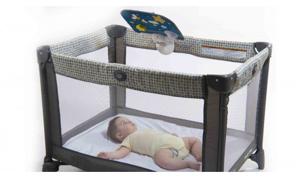 Double Sided Baby Crib Toy
