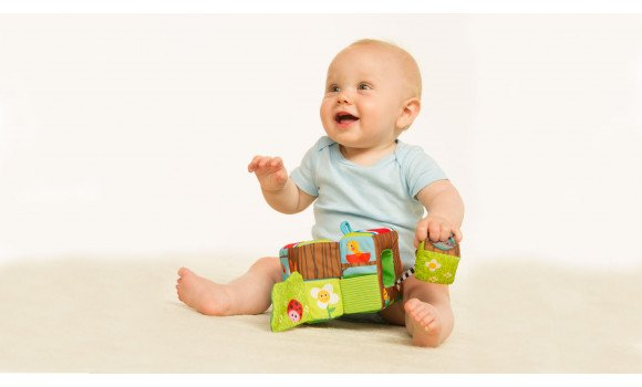 Soft Cube Baby Toy