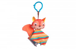 Crinkly Squirrel Travel Toy