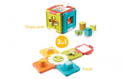 2 in 1 Shape Sorter & Puzzle