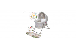 Boho Chic 2-in-1 Take Along Deluxe Bassinet