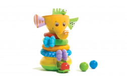 Musical Stack & Ball Game - Elephant