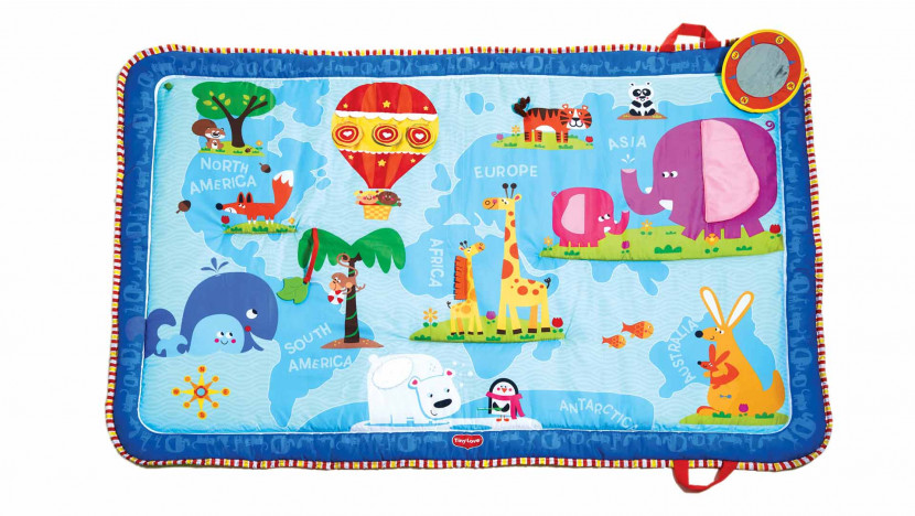 Discover the World Activity Mat