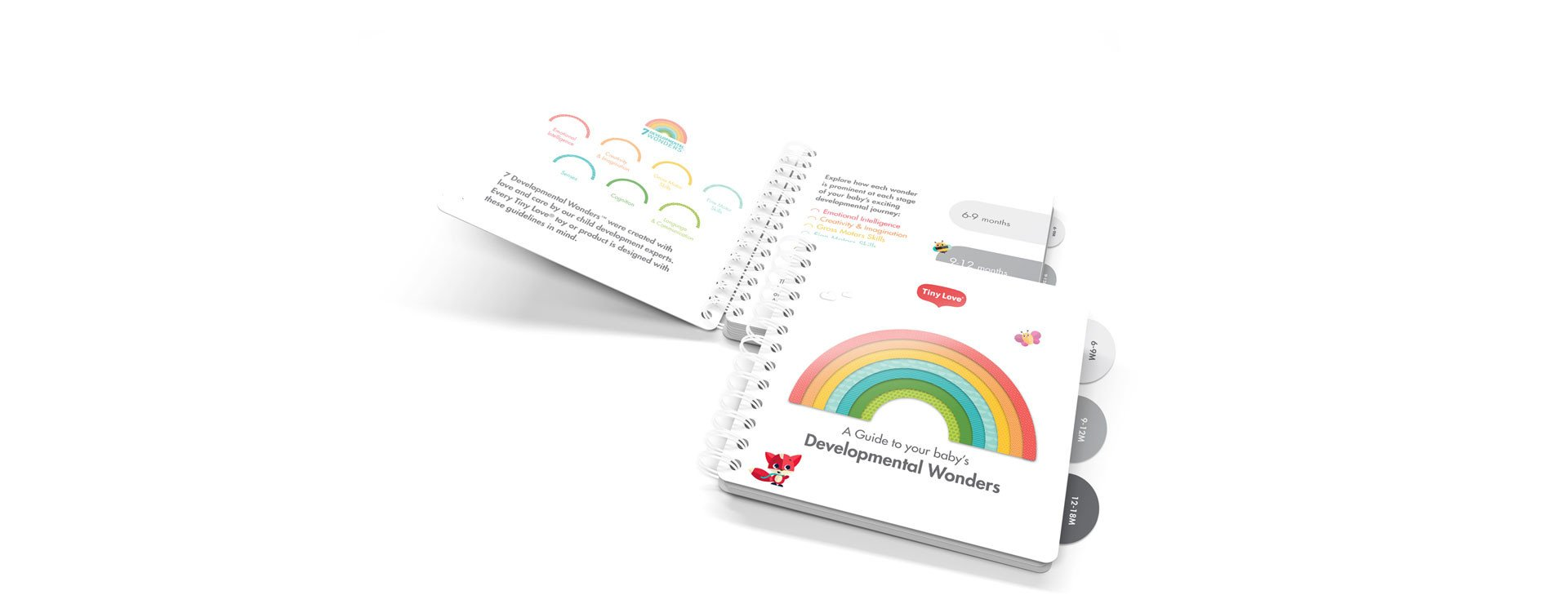 Developmental guide complementary with every product
