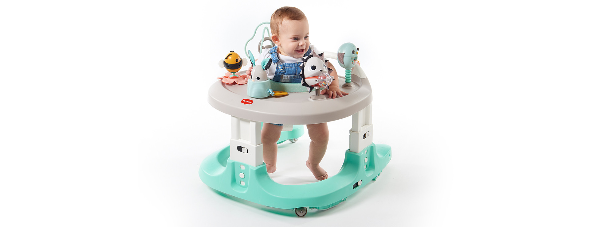 4-in-1 mobile activity center with multiple modes to grow with your baby