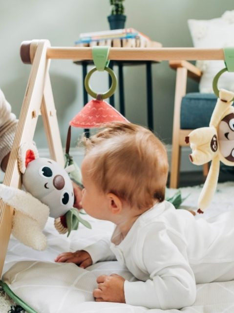 Koala hug-doll encourages emotional development