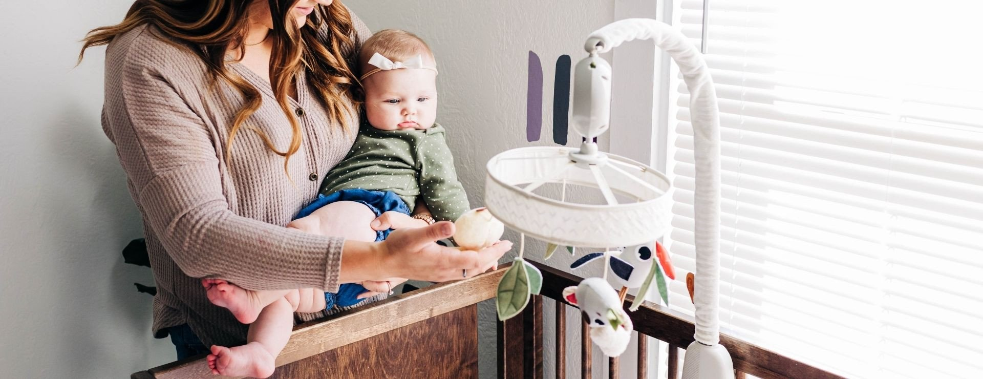 Reassuring atmosphere that will help your baby fall asleep