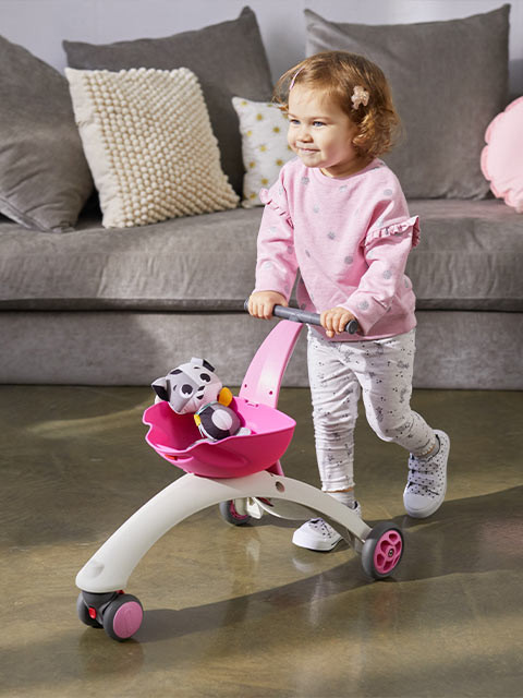 As your child grows, the fun push toy creates new possibilities for imaginative play, sparking creativity