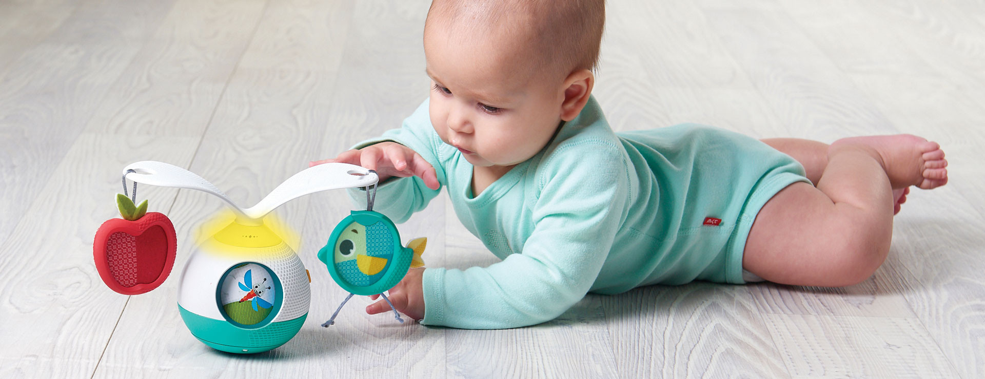 The easy way to extend tummy time – an essential position for baby's development