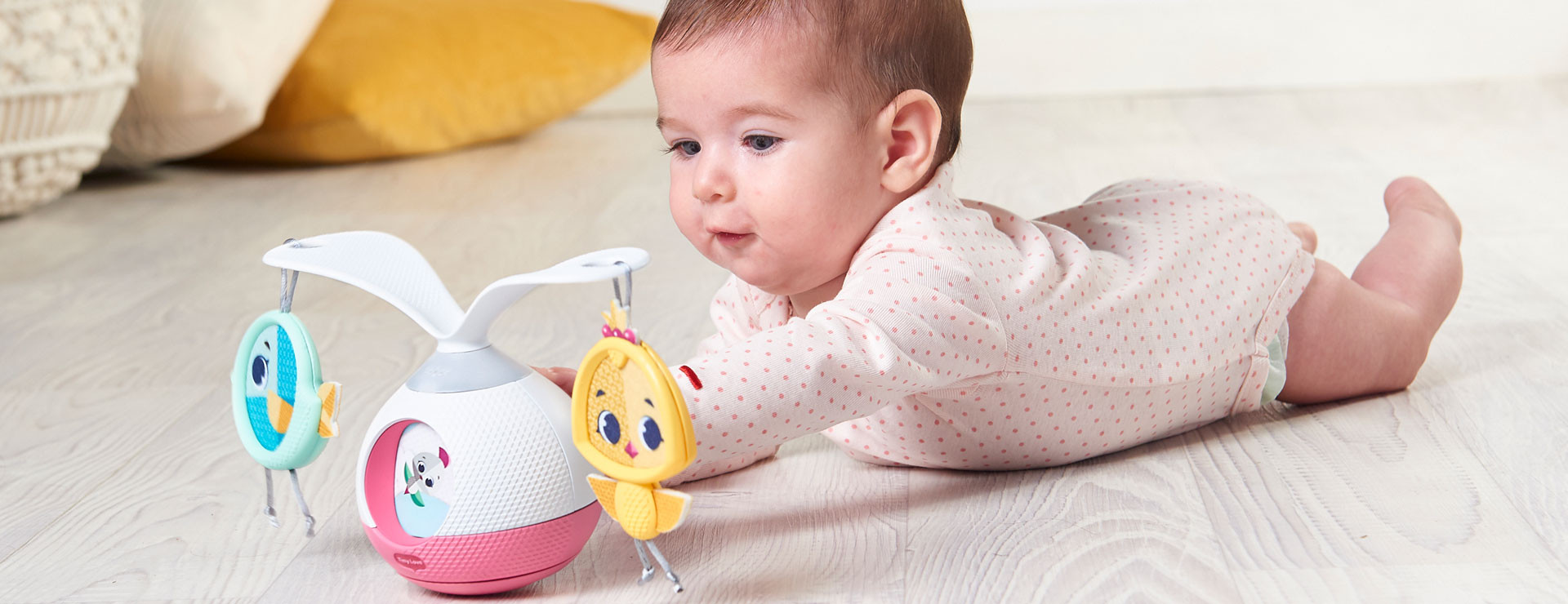 Bringing the mobile experience to fun tummy time!