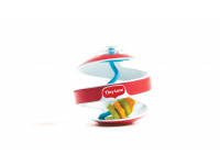 Gioco a spirale Inspiral - Swirling Ball - Rossa