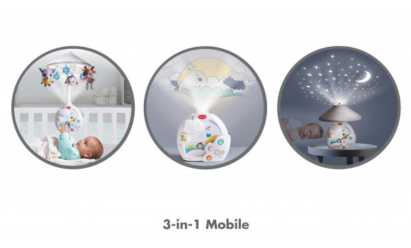 Magical Night 3-in-1 Projector Mobile
