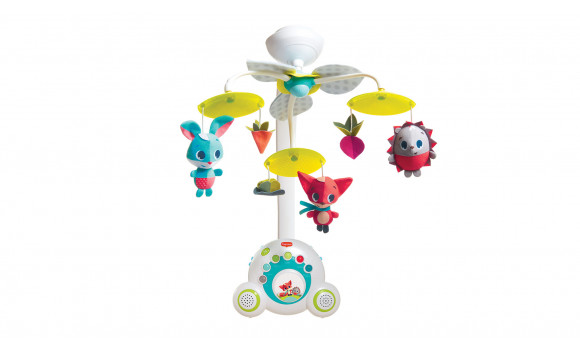 Meadow Days Soothe 'n Groove Baby Mobile