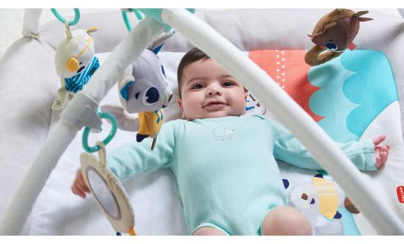 Polar Wonders Plush Gymini Baby Activity Gym