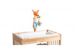 Cangui Canguro juguete para la hora de cambiar pañales