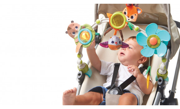 Into the Forest Musical Stroller Toy