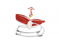 Transat Rocker Napper 3 en 1 Rouge