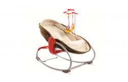 Transat Rocker Napper 3 en 1 Marron