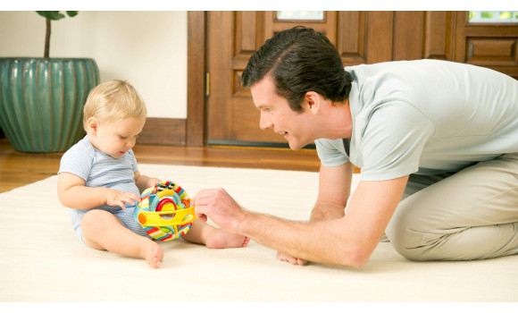 Rock and Ball Baby Toy