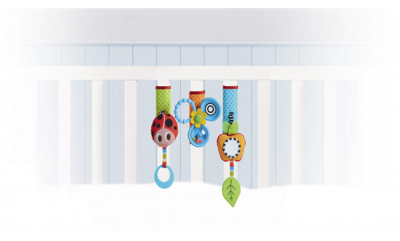 Crib and Stroller Toy Sleeves