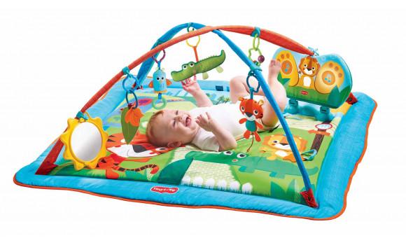 Gymini Kick and Play City Safari Baby Mat