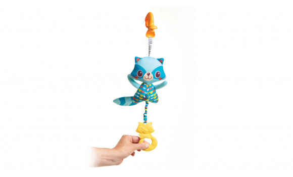 Jitter Teether Raccoon Baby Toy