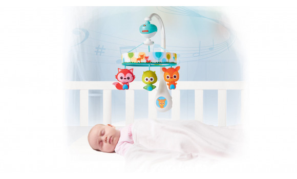 Tiny Friends Lullaby Baby Mobile