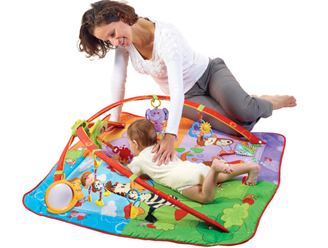 Tummy Time Positions