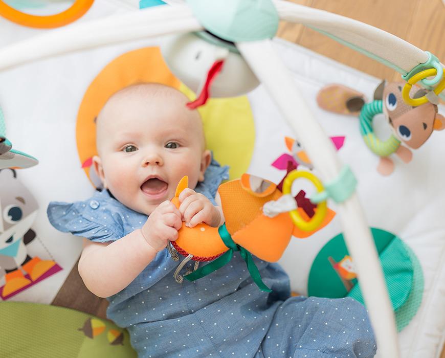Сенсорное развитие в первые два года жизни