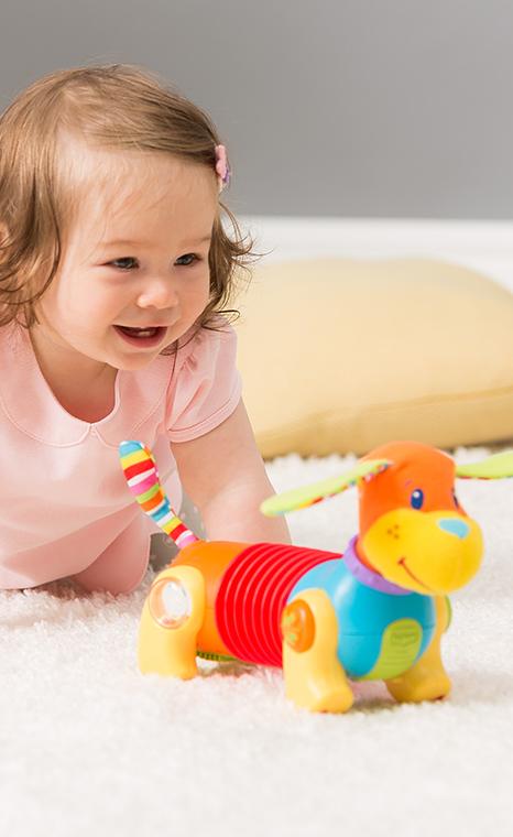 Gross Motor Skills in Baby