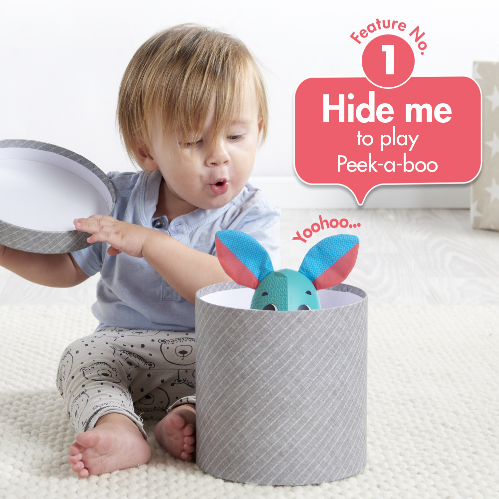 Feature No 1. hide me to play peek-a-boo