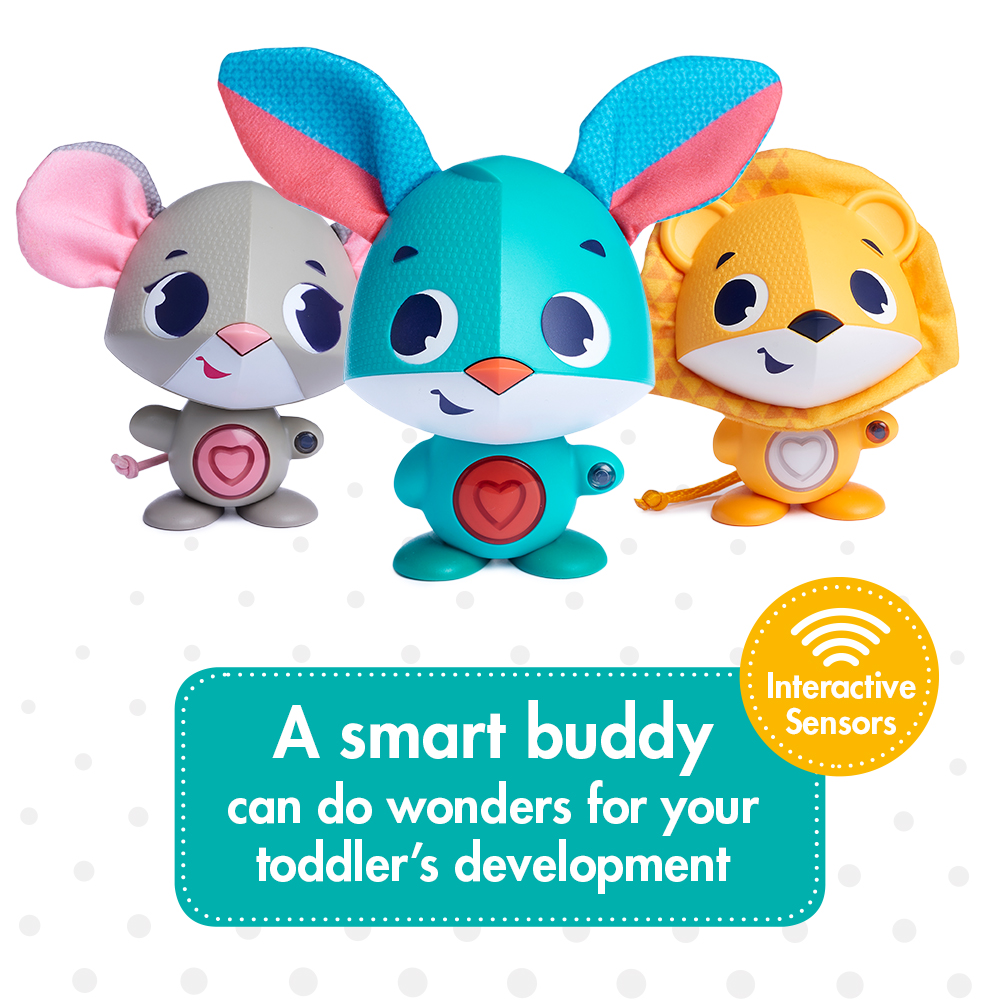 a smart buddy. can do wonders for your toddler's development