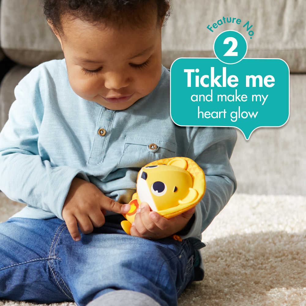 Feature No 2. tickle me and make my heart glow