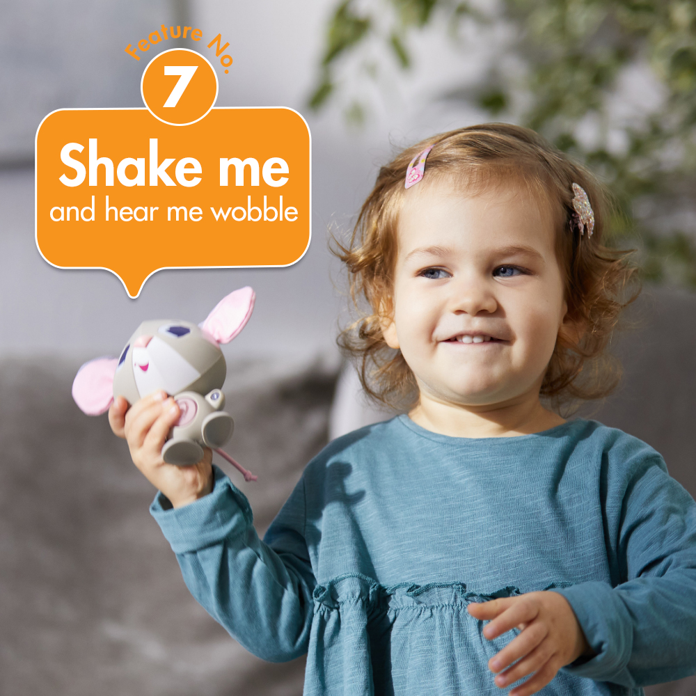 Feature No 7. shake me and hear me wobble