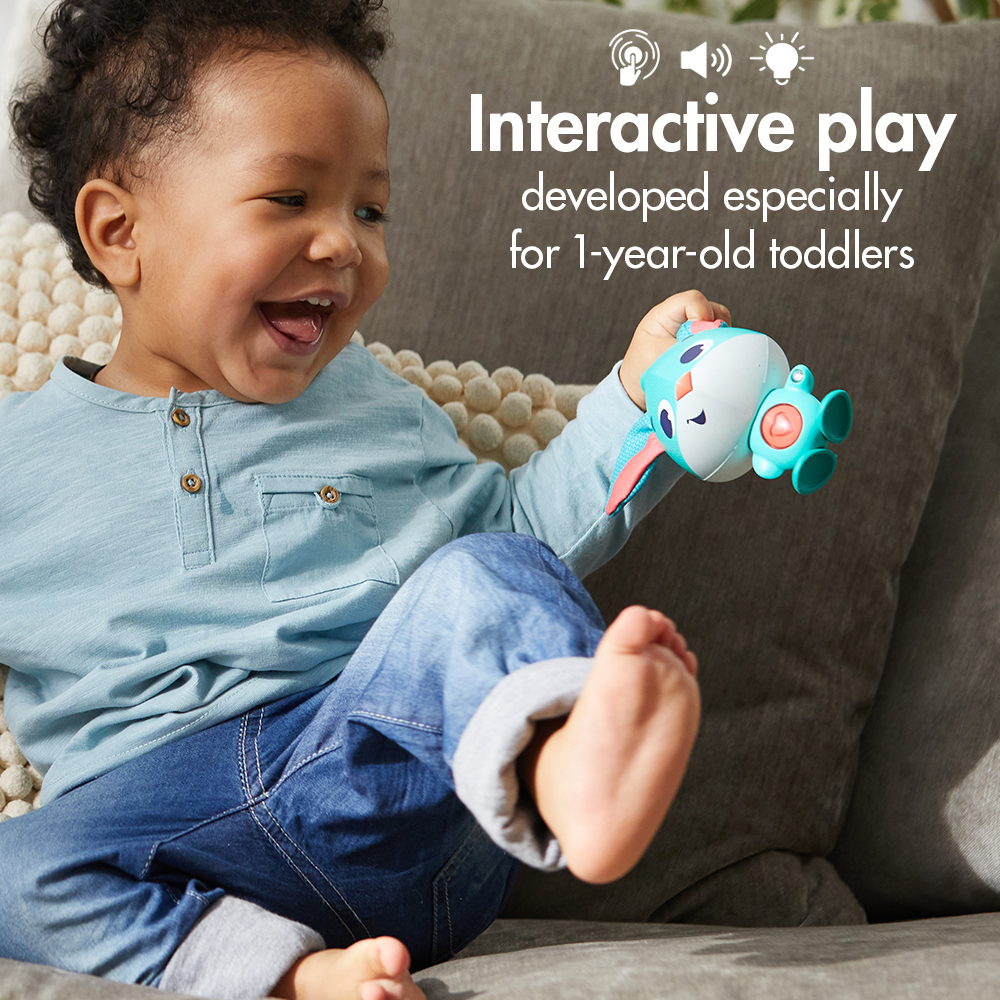 interactive play developed especially for 1-year-old toddlers